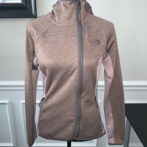 Purple North Face Jacket- small
